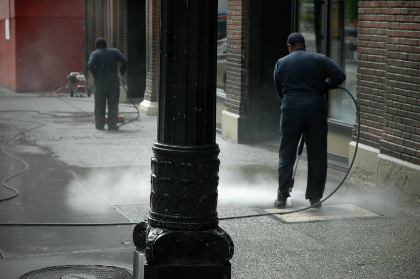 City Cleaning That Pollutes