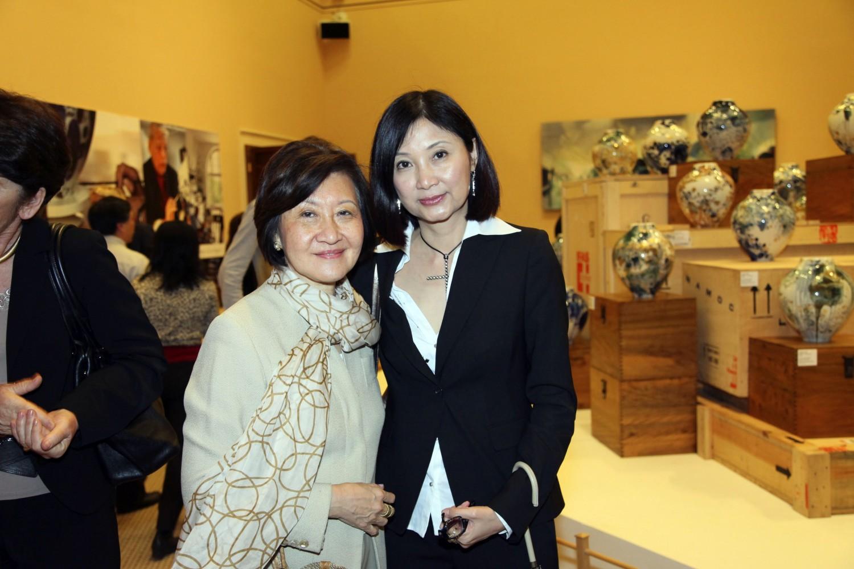 Alice King and Catherine Kwai