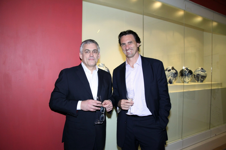 Philippe Koutouzis and Andrew Wardle