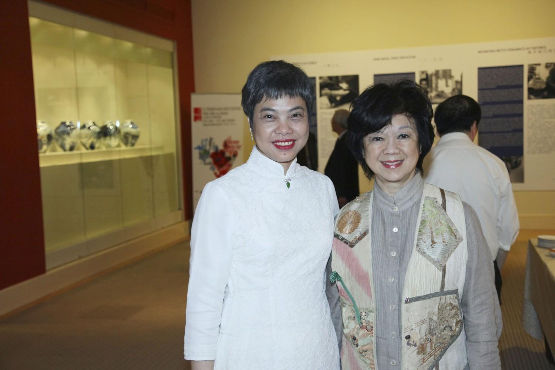 Anita Wong and Nancy Woo