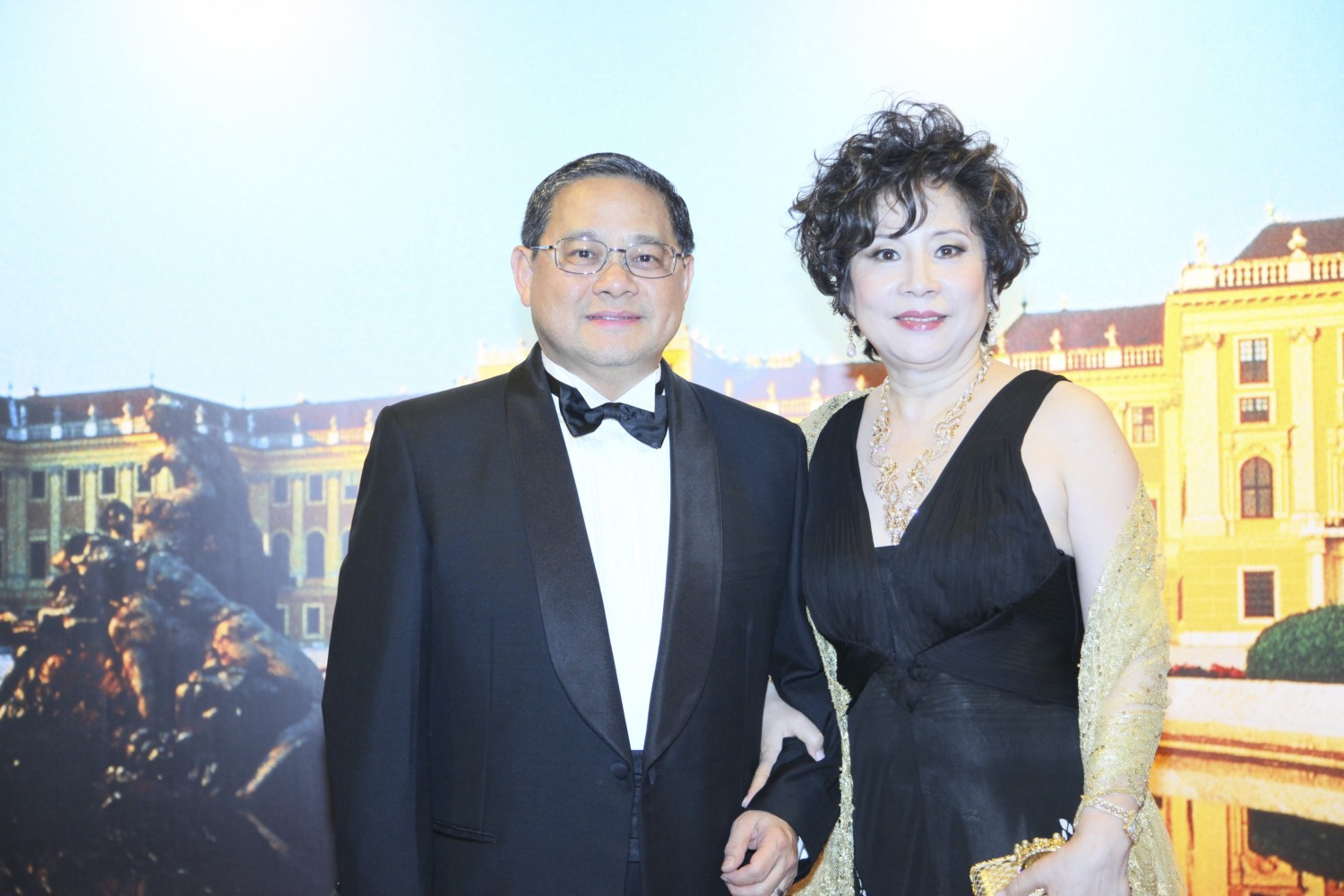 Victor Fung and Patricia Fung