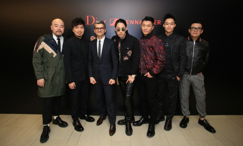 (From left to right) Wyman Wong, Alex Fung, Serge Brunschwig, Vanness Wu, Endy Chow, Tony Wu & Mark Lui.JPG