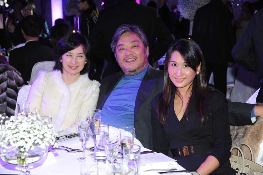 Pansy Ho, Peter Chan and Sandy Chan