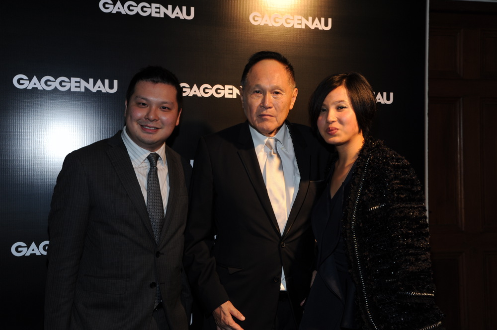 Howard Chao, Cecil Chao and Lena Sui