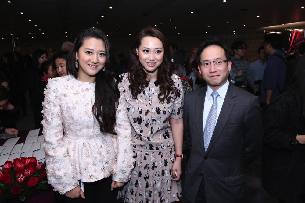 Wendy Hui, Josephine Chiu and Thomas Tsang