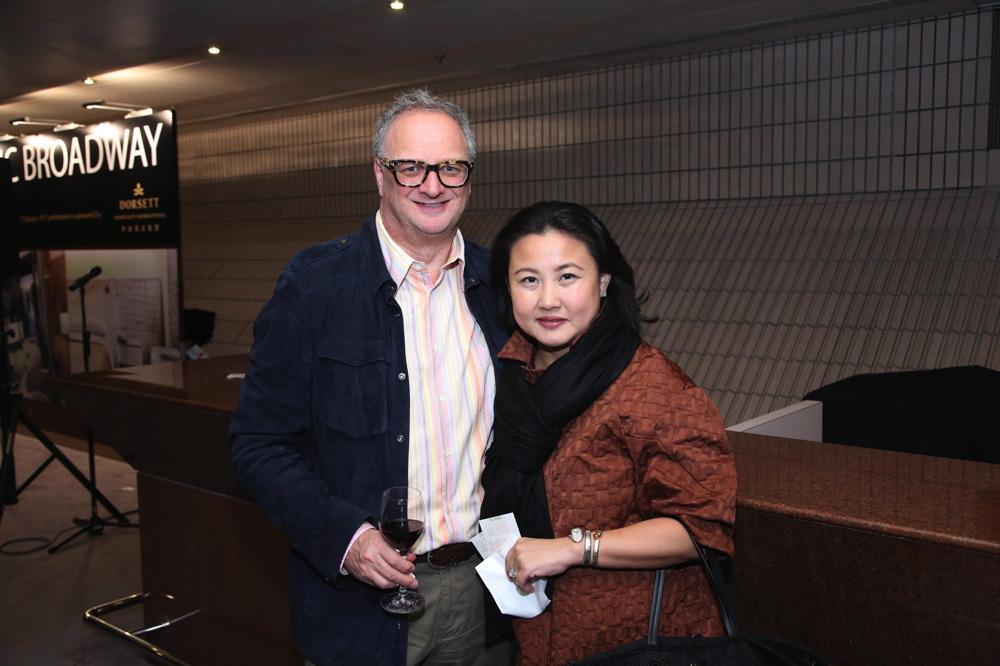 Paul Cadman and Levina Li-Cadman