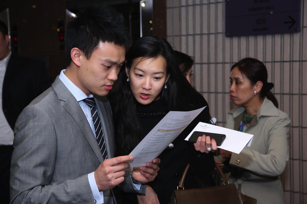 Jonathan Tam and Joyce Tam