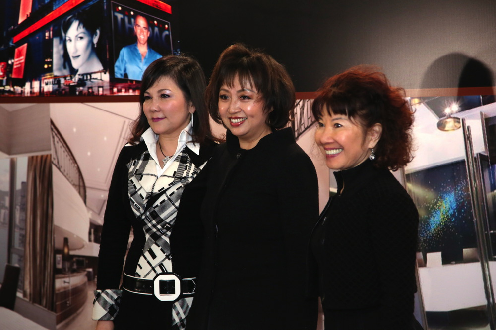 Margaret Choi, Nancy Chiu and Cissy Pao-Watari
