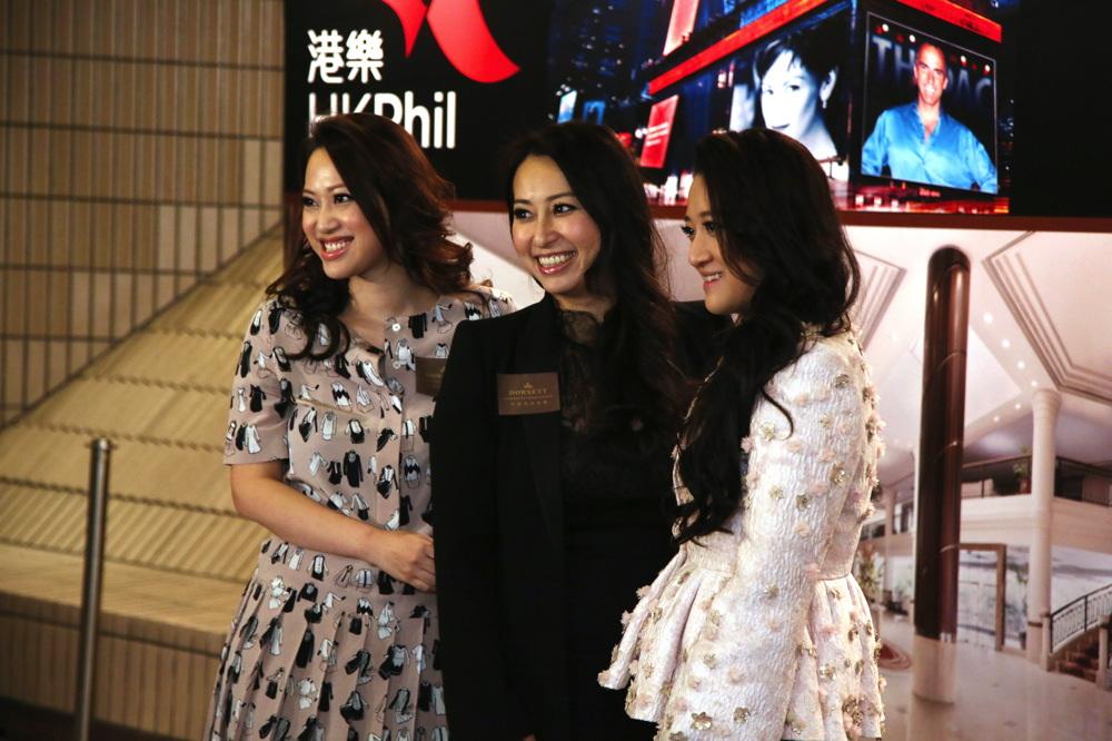 Josephine Chiu, Winnie Chiu and Wendy Hui