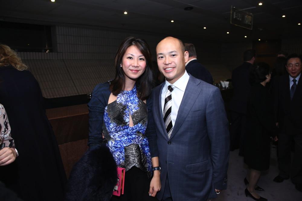 Adrienne Hui and Justin Hui