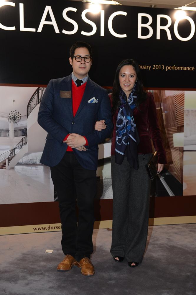 Brandon Chau and Jenny Chau