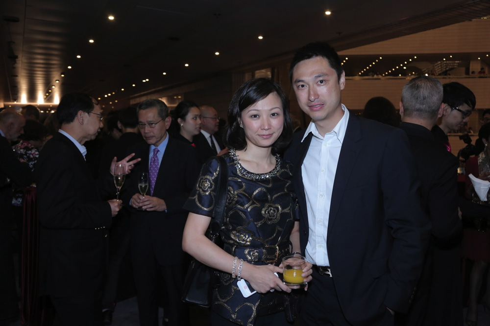 Michelle Cheng-Chan and Alan Chan