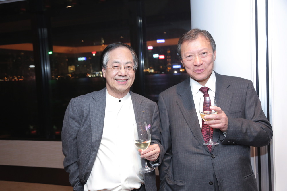 Vincent Cheung and Walter Kwok