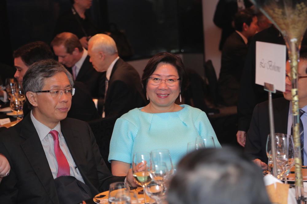 Bill Kwok and Doreen Pao
