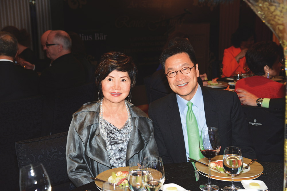 Rossana Gaw and Kaven Leung