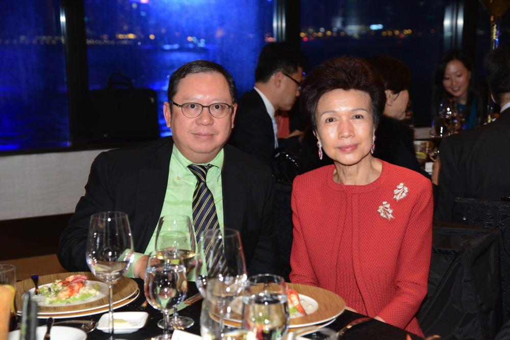 Peter Lam and Penny Li