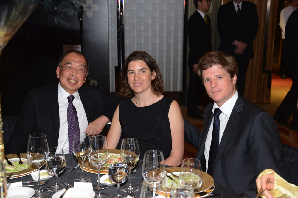 David Cheung, Alice Cathiard-Tourbier and Jerome Tourbier