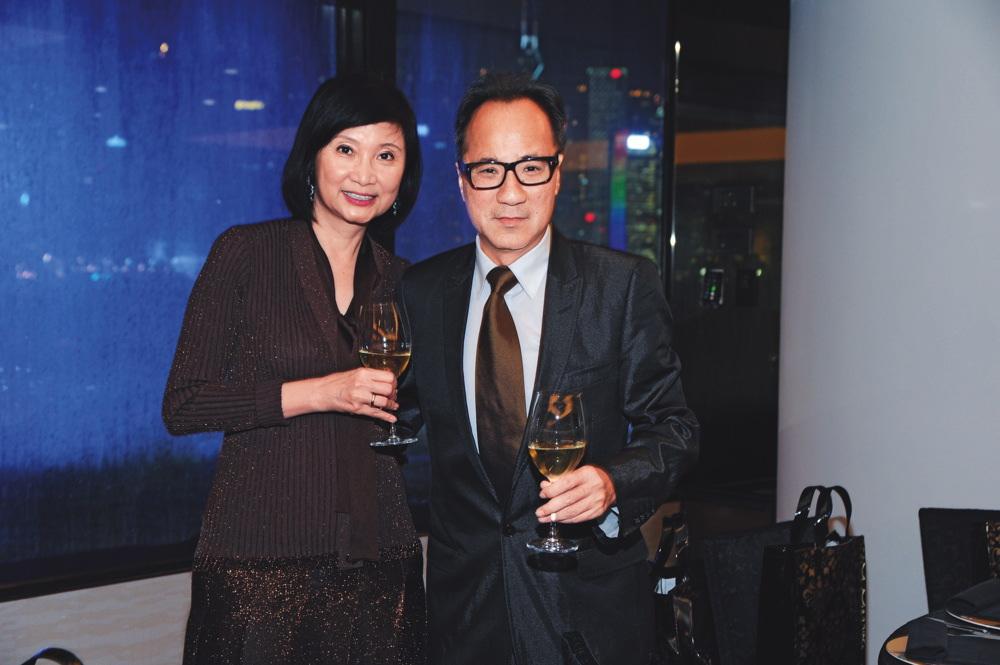 Catherine Kwai and Edward Fung