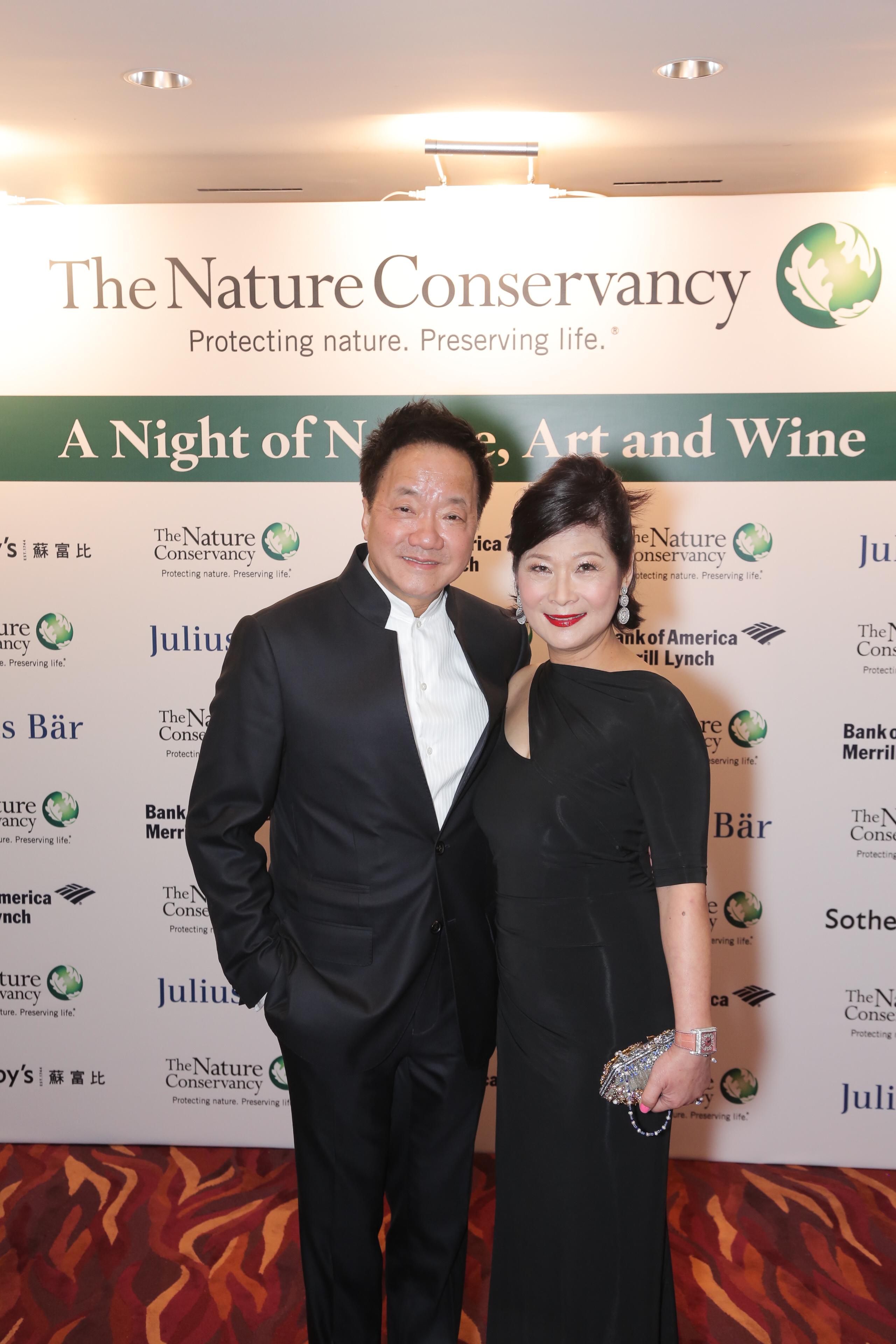 Moses Tsang and Angela Tsang