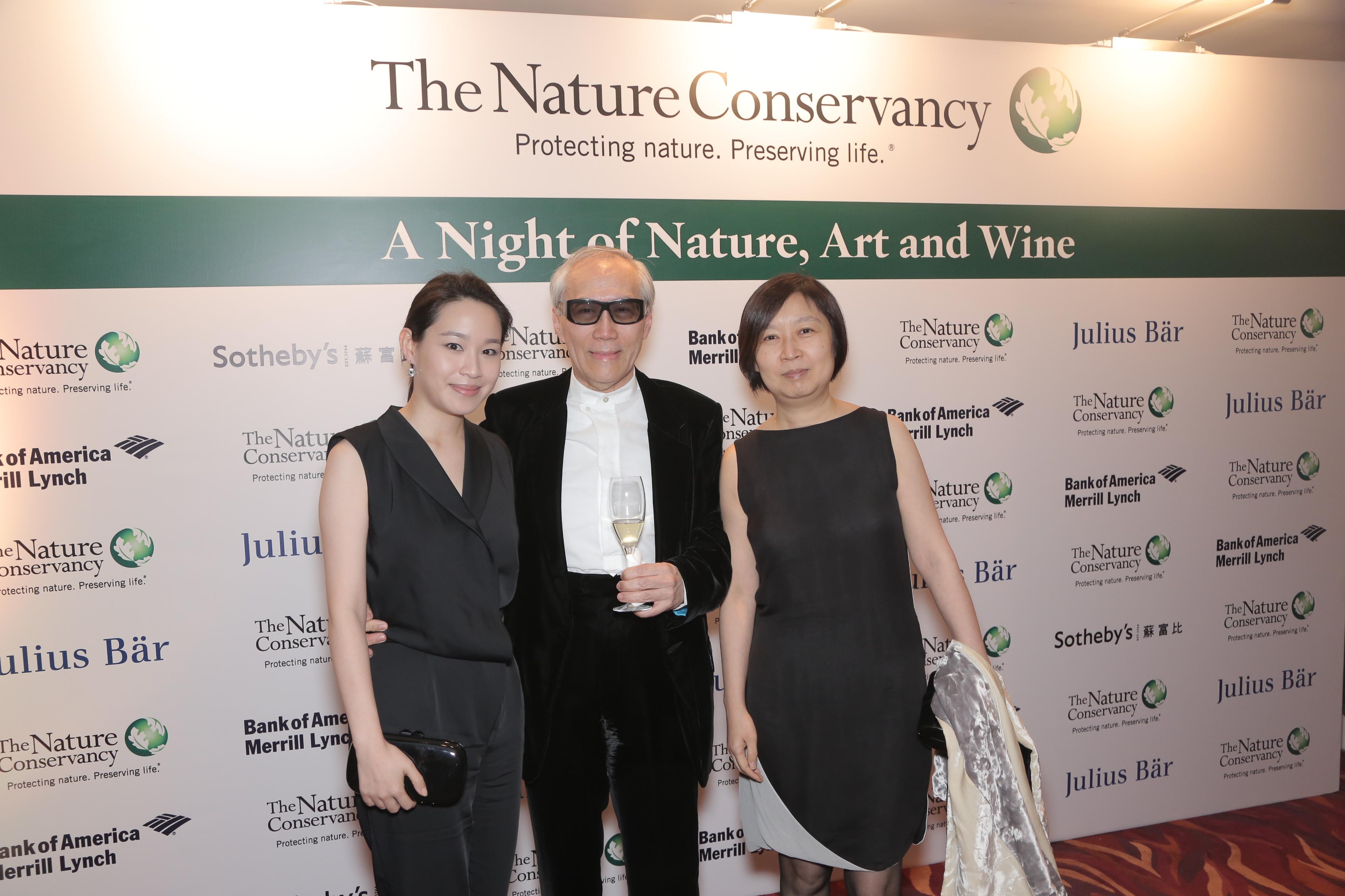 Jolene Chow, KC Chow and Amy Chow