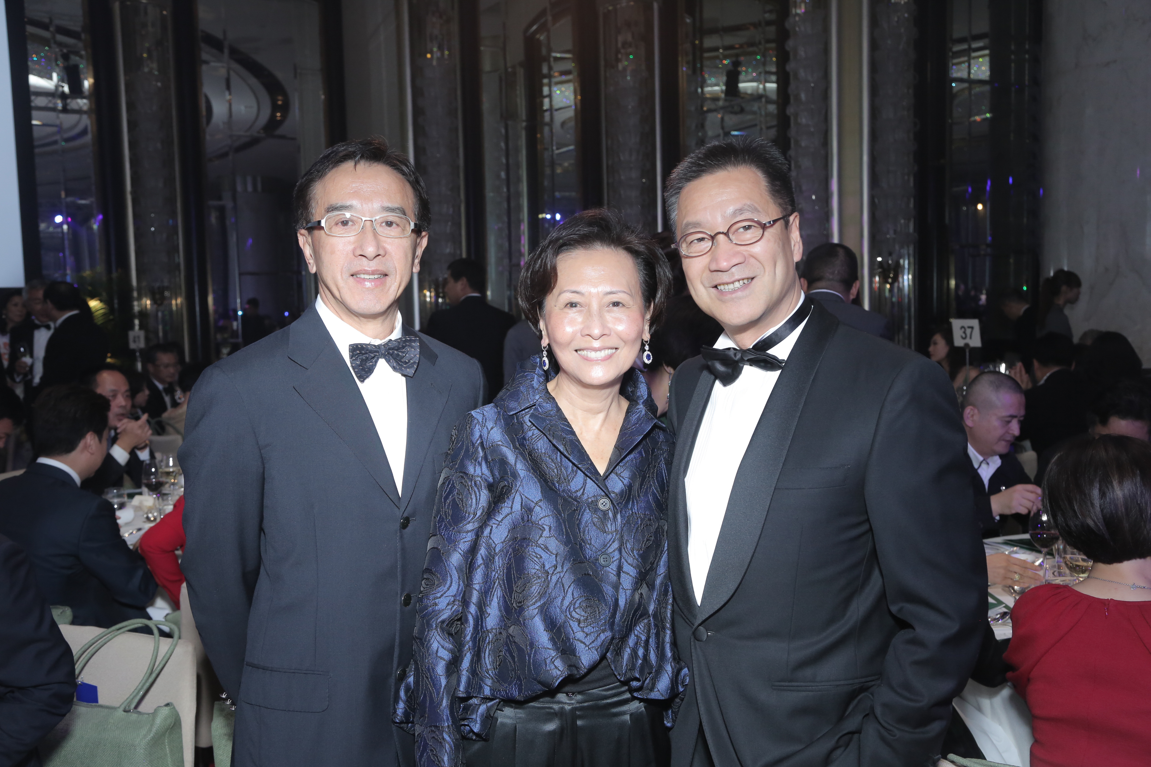 James Tien, Mary Tien and Kaven Leung