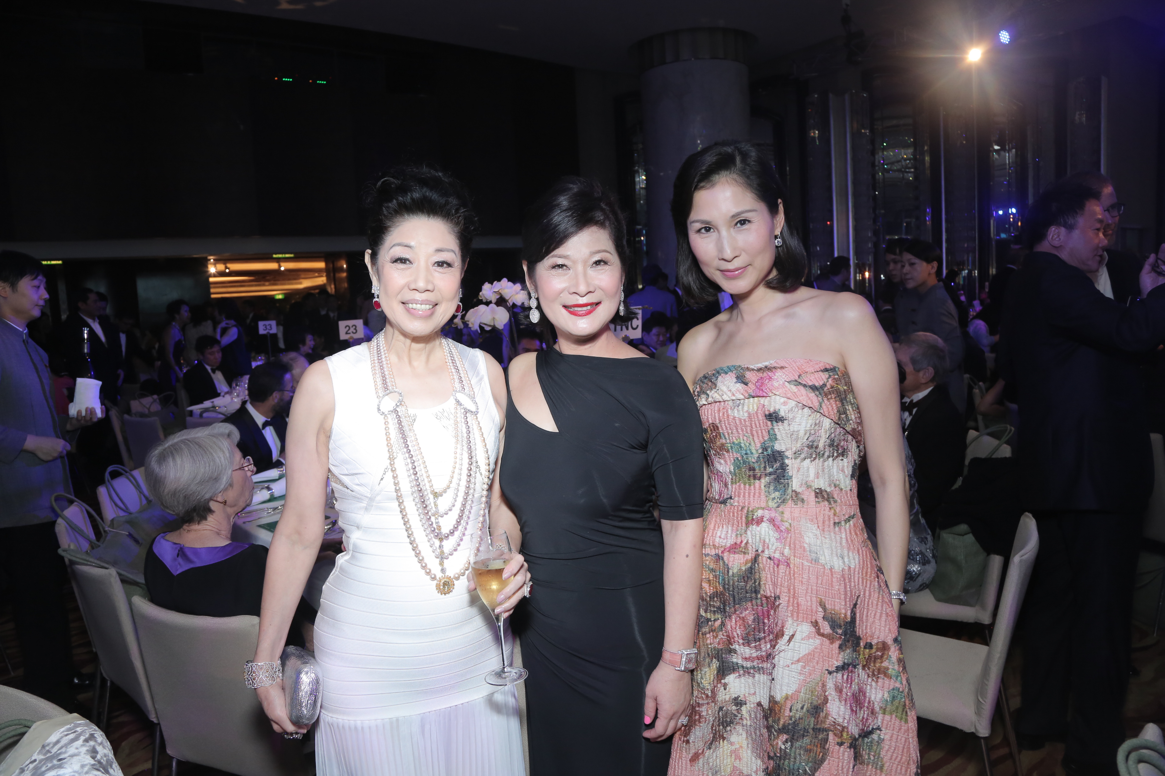 Betty Sun, Angela Tsang and Louisa Cheng