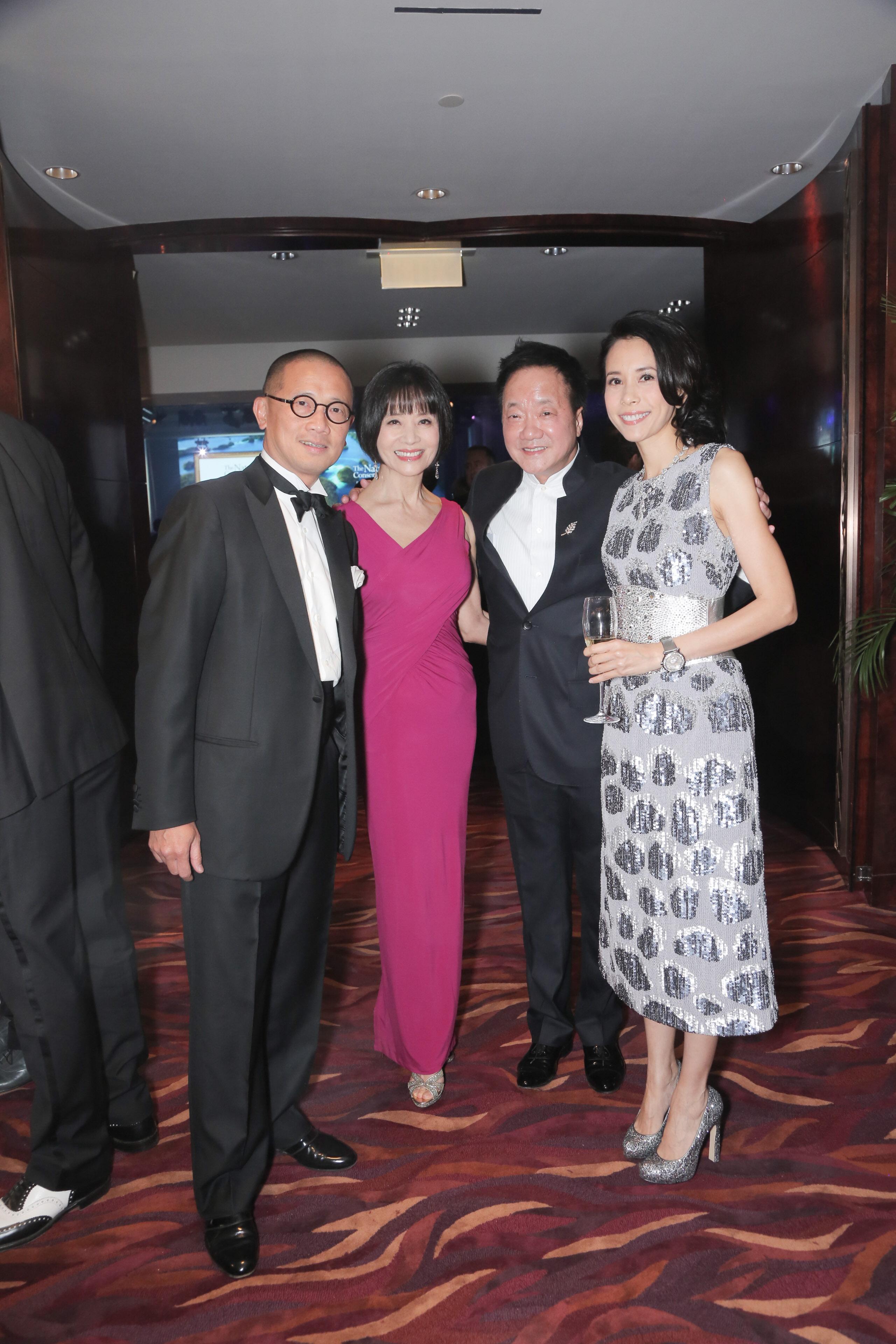 Kevin Ching, Monica Wong, Moses Tsang and Karen Mok