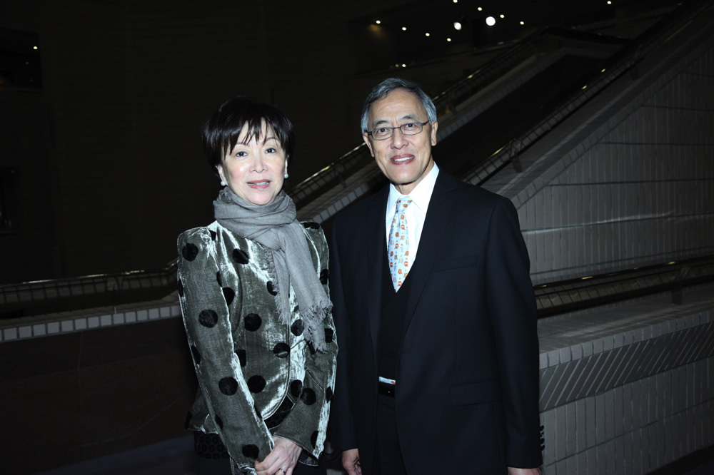 Nancy Ting and Kenneth Ting