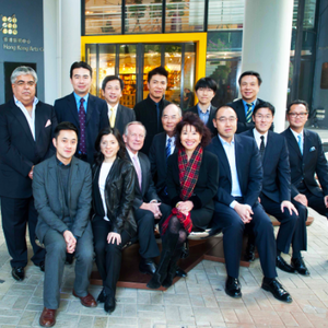 Board of Governors, HKAC (fourth from right: Mr. Nelson Leong)