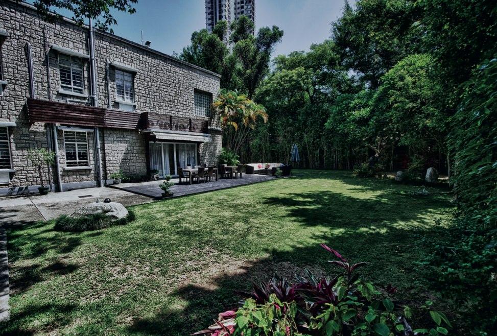 Kadoorie back garden