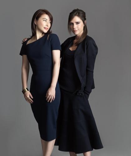 Guo Jingjing and Victoria Beckham © Wing Shya.jpg