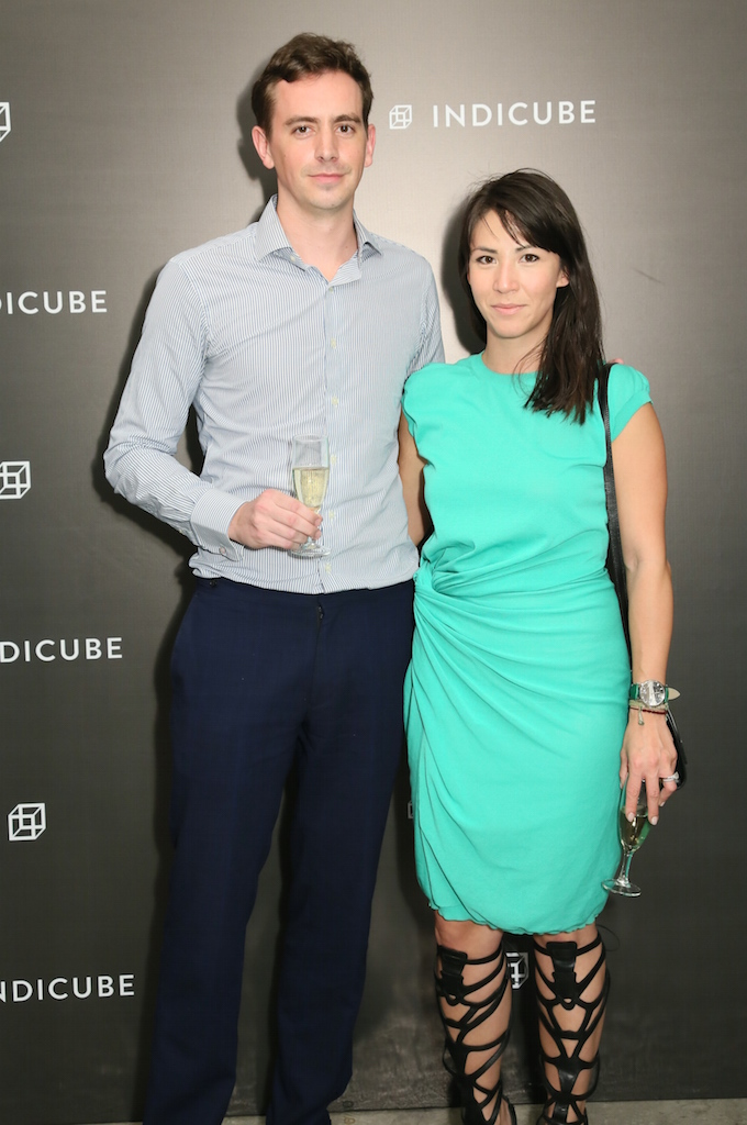 Christopher Owen and Victoria Tang