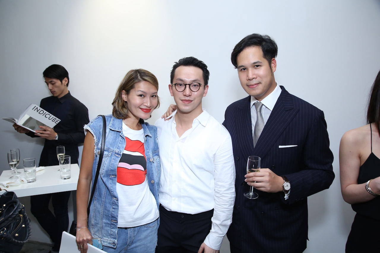 Helen Ma, Harris Chan, and Brandon Chau