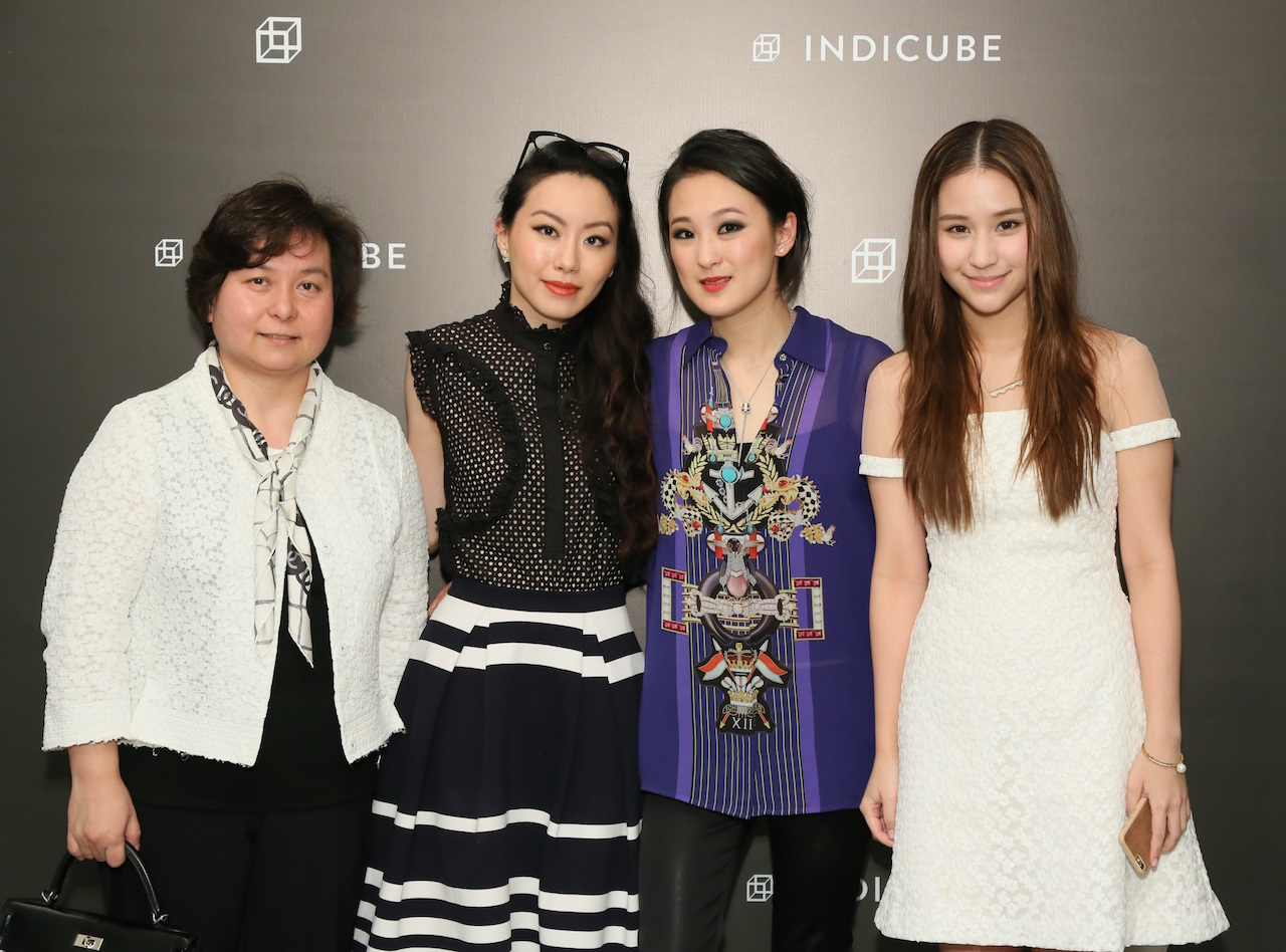 Maisy Ho, Ruth Chao, Antonia Li, and Laurinda Ho