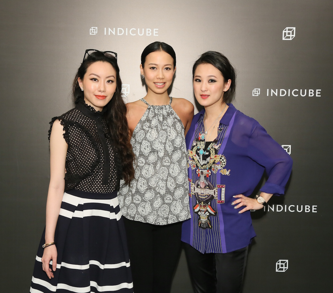 Ruth Chao, Claudine Ying, and Antonia Li