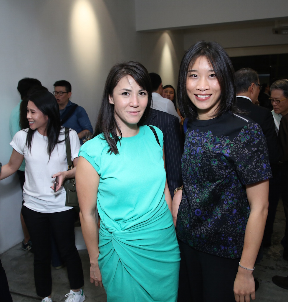 Victoria Tang and Dee Poon
