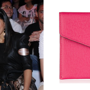 Veronica Chou and her Michael Kors passport holder