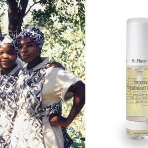 Bonnie Gokson and her spray from Dr. Hauschka