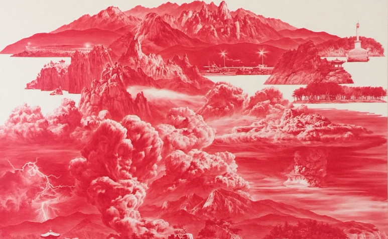 COVER - Lee Sea Hyun 李世賢 b.1967 Between Red – 015OCT01 紅色之間-015OCT01, 2015 Oil on linen 亞麻布面油畫 150 x 150 cm; 59 1_8 x 59 1_8 in.jpg